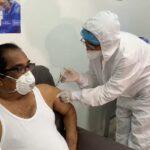 El HUC dio inicio a la vacunación en Cartagena