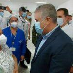 En el Hospital Universitario del Caribe se puso la vacuna número 2 millones
