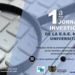 1° JORNADA DE INVESTIGACIÓN EN LA E.S.E HOSPITAL UNIVERSITARIO DEL CARIBE